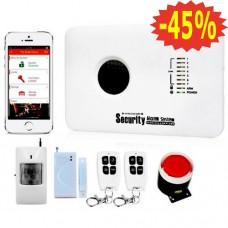 Беспроводная сигнализация GSM 10C (10С) охранная, купить для дома