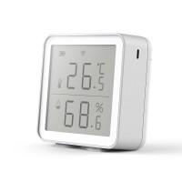 Датчик температуры и влажности Tuya Wi-Fi, комнатный гигрометр, термометр с ЖК-дисплеем
